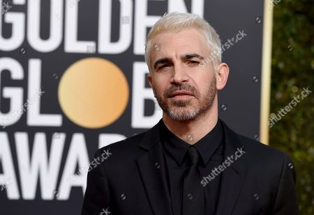 Chris Messina arrives at the 76th annual Golden Globe Awards at the Beverly Hilton Hotel, in Beverly Hills, Calif