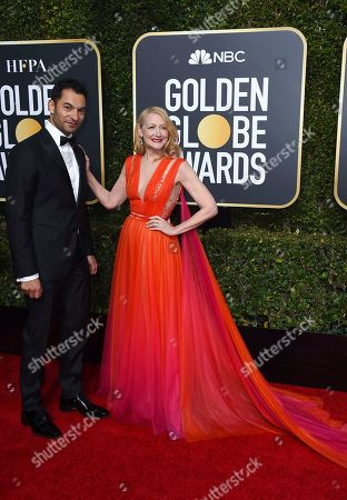 Darwin Shaw, Patricia Clarkson. Darwin Shaw, left, and Patricia Clarkson arrive at the 76th annual Golden Globe Awards at the Beverly Hilton Hotel, in Beverly Hills, Calif