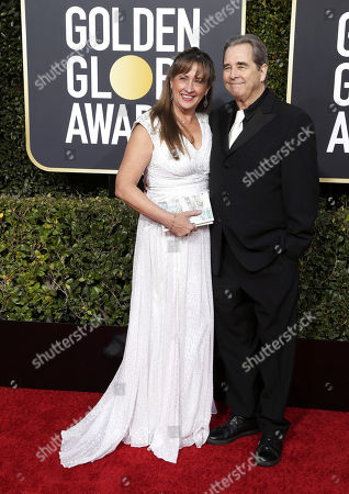 Stock Photo of Wendy Treece Bridges (L) and Beau Bridges arrive for the 76th annual Golden Globe Awards ceremony at the Beverly Hilton Hotel, in Beverly Hills, California, USA, 06 January 2019. *** Local Caption *** 52514391