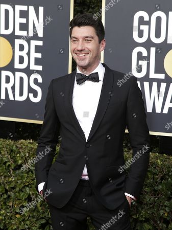 Stock Image of Jakob Verbruggen arrives for the 76th annual Golden Globe Awards ceremony at the Beverly Hilton Hotel, in Beverly Hills, California, USA, 06 January 2019. *** Local Caption *** 52514391