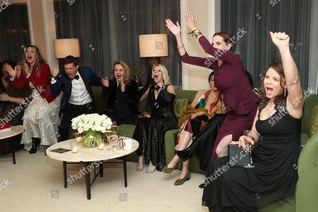 Joel Johnstone, Matilda Szydagis, Head of Casting Amazon Donna Rosenstein and Marti Resteghini
