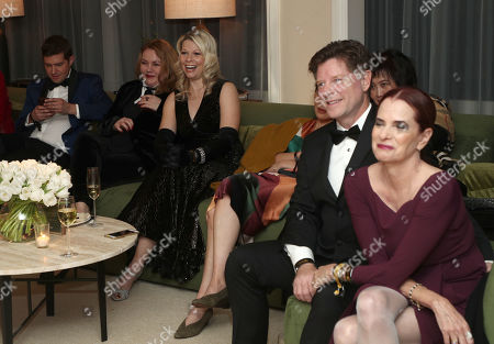 Joel Johnstone, Matilda Szydagis, Head of Casting Amazon Donna Rosenstein and Dermot Mulroney