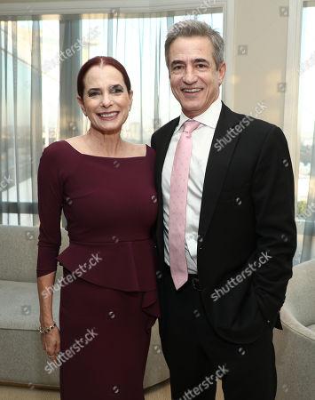 Head of Casting Amazon Donna Rosenstein and Dermot Mulroney