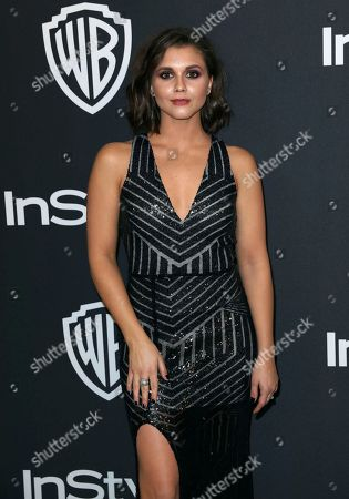 Stock Photo of Alexandra Chando arrives at the InStyle and Warner Bros. Golden Globes afterparty at the Beverly Hilton Hotel, in Beverly Hills, Calif