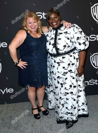 Stock Picture of Julie Plec, Retta. Julie Plec, left, and Retta arrive at the InStyle and Warner Bros. Golden Globes afterparty at the Beverly Hilton Hotel, in Beverly Hills, Calif