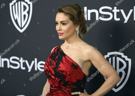 Instyle Warner Bros Golden Globes After Party Stockfotos
