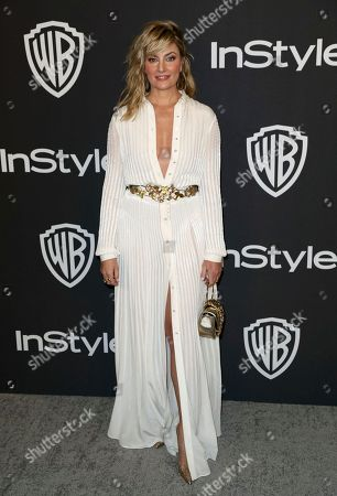 Madchen Amick arrives at the InStyle and Warner Bros. Golden Globes afterparty at the Beverly Hilton Hotel, in Beverly Hills, Calif