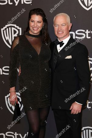 Ruve McDonough, Neal McDonough. Ruve McDonough, left, and Neal McDonough arrive at the InStyle and Warner Bros. Golden Globes afterparty at the Beverly Hilton Hotel, in Beverly Hills, Calif