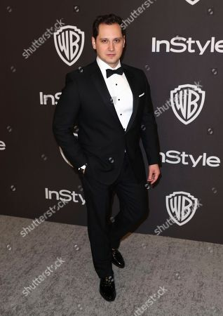 Matt McGorry arrives at the InStyle and Warner Bros. Golden Globes afterparty at the Beverly Hilton Hotel, in Beverly Hills, Calif