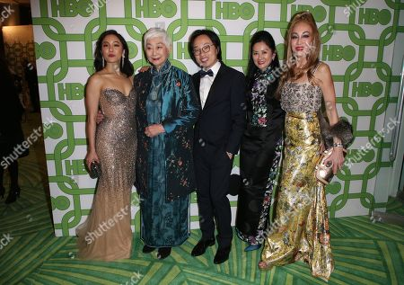 Constance Wu, Lisa Lu and Jimmy O. Yang
