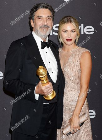 Arielle Mandelson and Chuck Lorre