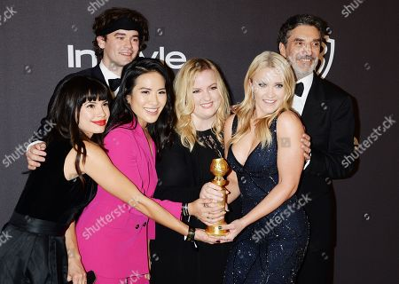 Casey Thomas Brown, Jenna Lyng, Melissa Tang, Sarah Baker, Emily Osment, and Chuck Lorre