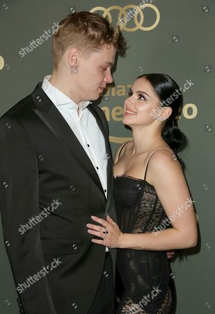 Ariel Winter, Levi Meaden. Ariel Winter, right, and Levi Meaden arrive at the Amazon Golden Globes afterparty at the Beverly Hilton Hotel, in Beverly Hills, Calif