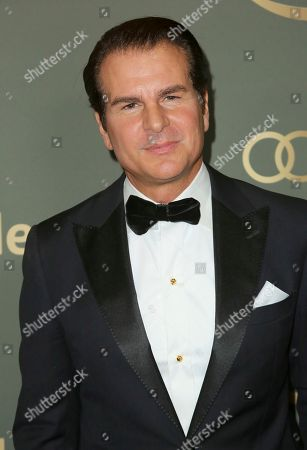Vincent De Paul arrives at the Amazon Golden Globes afterparty at the Beverly Hilton Hotel, in Beverly Hills, Calif