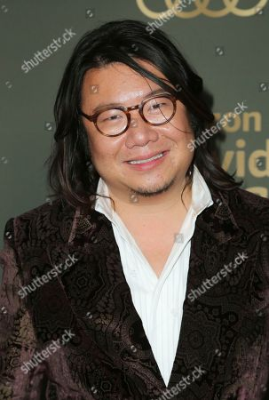 Stock Picture of Kevin Kwan arrives at the Amazon Golden Globes afterparty at the Beverly Hilton Hotel, in Beverly Hills, Calif