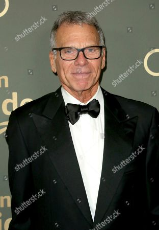 David Permut arrives at the Amazon Golden Globes afterparty at the Beverly Hilton Hotel, in Beverly Hills, Calif