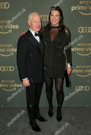 Neal McDonough, Ruve McDonough. Neal McDonough, left, and Ruve McDonough arrive at the Amazon Golden Globes afterparty at the Beverly Hilton Hotel, in Beverly Hills, Calif