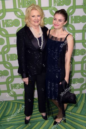 Candice Bergen, Chloe Malle. Candice Bergen, left, and Chloe Malle arrive at the HBO Golden Globes afterparty at the Beverly Hilton Hotel, in Beverly Hills, Calif
