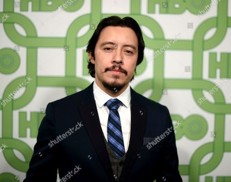 Stock Picture of Efren Ramirez arrives at the HBO Golden Globes afterparty at the Beverly Hilton Hotel, in Beverly Hills, Calif