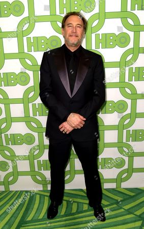 Gregg Fienberg arrives at the HBO Golden Globes afterparty at the Beverly Hilton Hotel, in Beverly Hills, Calif