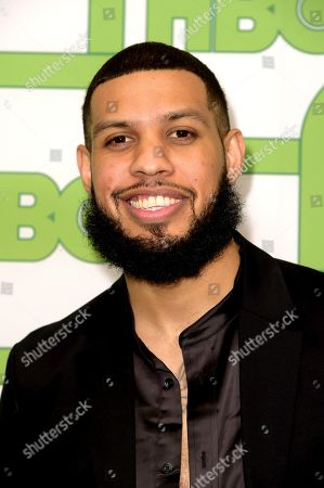 Stock Image of Sarunas J. Jackson arrives at the HBO Golden Globes afterparty at the Beverly Hilton Hotel, in Beverly Hills, Calif