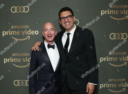 Founder and CEO Amazon Studios Jeff Bezos and Sam Esmail