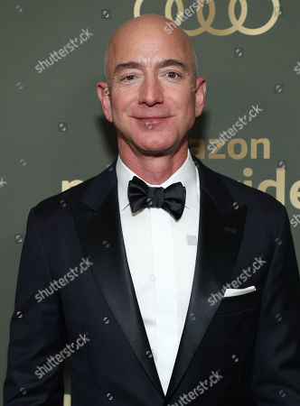 Stock Picture of Founder and CEO Amazon Studios Jeff Bezos