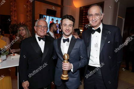 Ron Meyer, Vice Chairman, NBCUniversal, Justin Hurwitz, Brian L. Roberts, Chairman and Chief Executive Officer, Comcast,