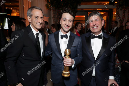 Peter Cramer, President of Production, Universal Pictures, Justin Hurwitz, Jeff Shell, Chairman, Universal Filmed Entertainment Group,