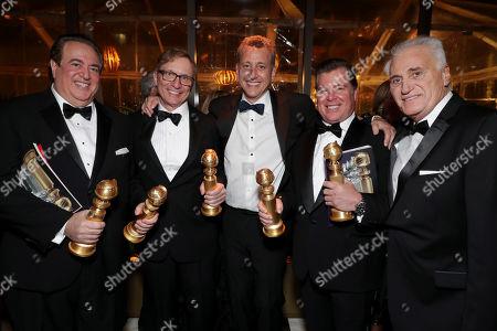 Nick Vallelonga, Jim Burke, John Sloss, Brian Currie, Joe Cortese
