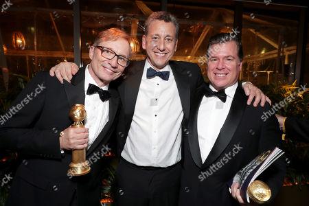 Jim Burke, John Sloss, Brian Currie