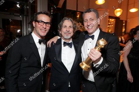 Stock Image of Jeb Brody, Peter Farrelly, John Sloss