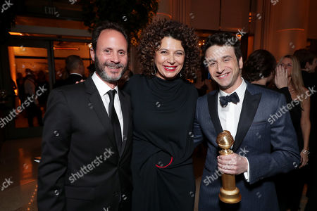 Mike Knobloch, President, Film Music and Publishing, Universal Pictures, Donna Langley, Chairman, Universal Pictures, Justin Hurwitz