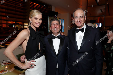 Charlize Theron, Jeff Shell, Chairman, Universal Filmed Entertainment Group, Brian L. Roberts, Chairman and Chief Executive Officer, Comcast,