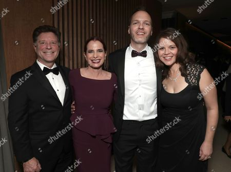 Mark Robinson, Head of Casting Amazon Donna Rosenstein, Head of Drama Amazon Studios Marc Resteghini and Marti Resteghini