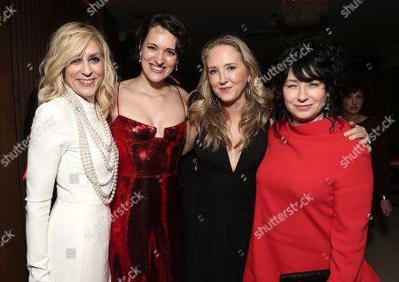 Stock Photo of Judith Light, Phoebe Waller-Bridge, Head of Amazon Studios Jennifer Salke and Amy Sherman-Palladino