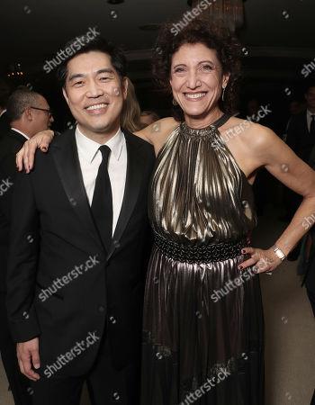Amazon Studios' Albert Cheng and Amy Aquino