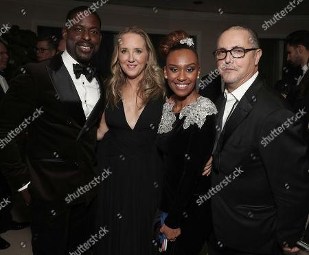 Sterling K. Brown, Head of Amazon Studios Jennifer Salke, Ryan Michelle Bathe and Bert Salke