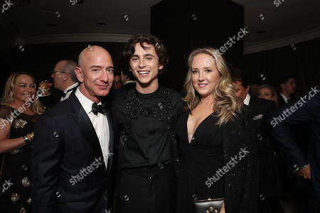 Editorial photo of Amazon Golden Globes After Party sponsored by Audi, Inside, Los Angeles, USA - 06 Jan 2019