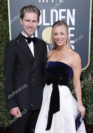 Stock Photo of Karl Cook and Kaley Cuoco