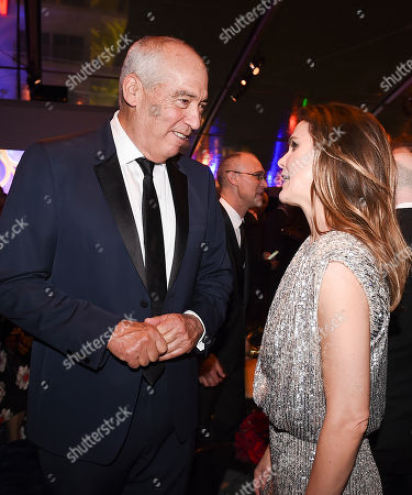 Stock Picture of Gary Newman, Keri Russell