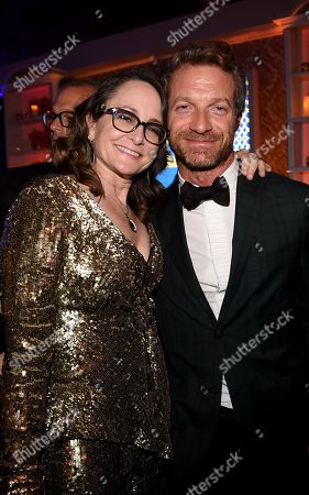 Stock Picture of Nina Jacobson, Tom Rob Smith