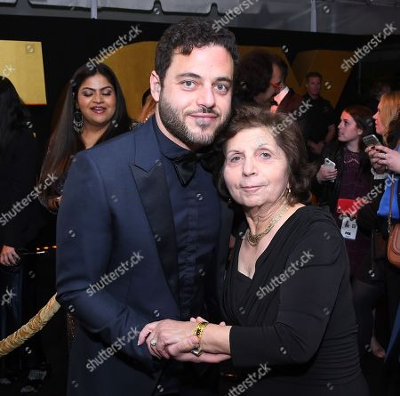 Mother Of Rami Malek Stock Pictures Editorial Images And Stock