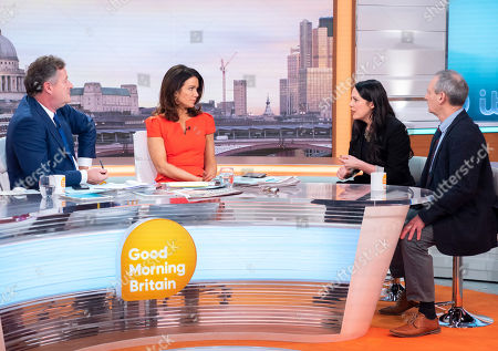 Piers Morgan, Susanna Reid, Amelia Womack and Phil Stocker