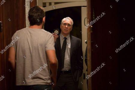Ewen Leslie as Ryan Gallagher and Damien Garvey as AFP Officer Wade