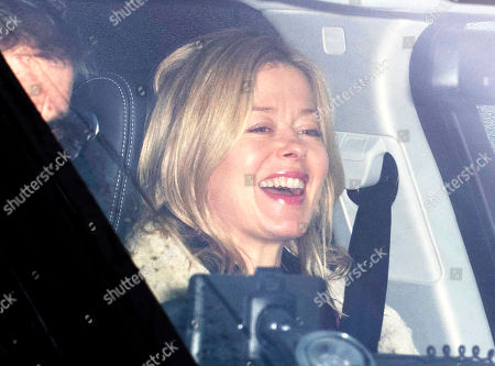 Lady Helen Windsor Arrives At Buckingham Palace For The Queen's Annual Royal Christmas Lunch 20.12.17.
