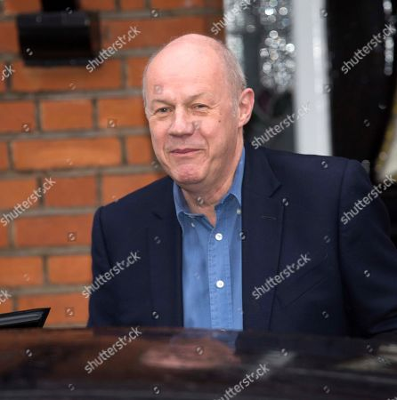 Editorial image of Damien Green . Ex-first Secretary Of State Damien Green Leaves His Home In Acton This Morning After Being Sacked Last Night.