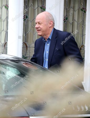Stock Image of Damien Green . Ex-first Secretary Of State Damien Green Leaves His Home In Acton This Morning After Being Sacked Last Night.