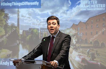 The Metro Mayor of Greater Manchester Andy Burnham