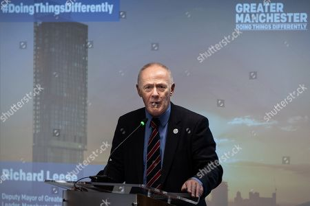 Stock Picture of Sir Richard Leese, Deputy Mayor and Leader of Manchester City Council